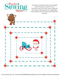 Pivot Practice Sheet Christmas