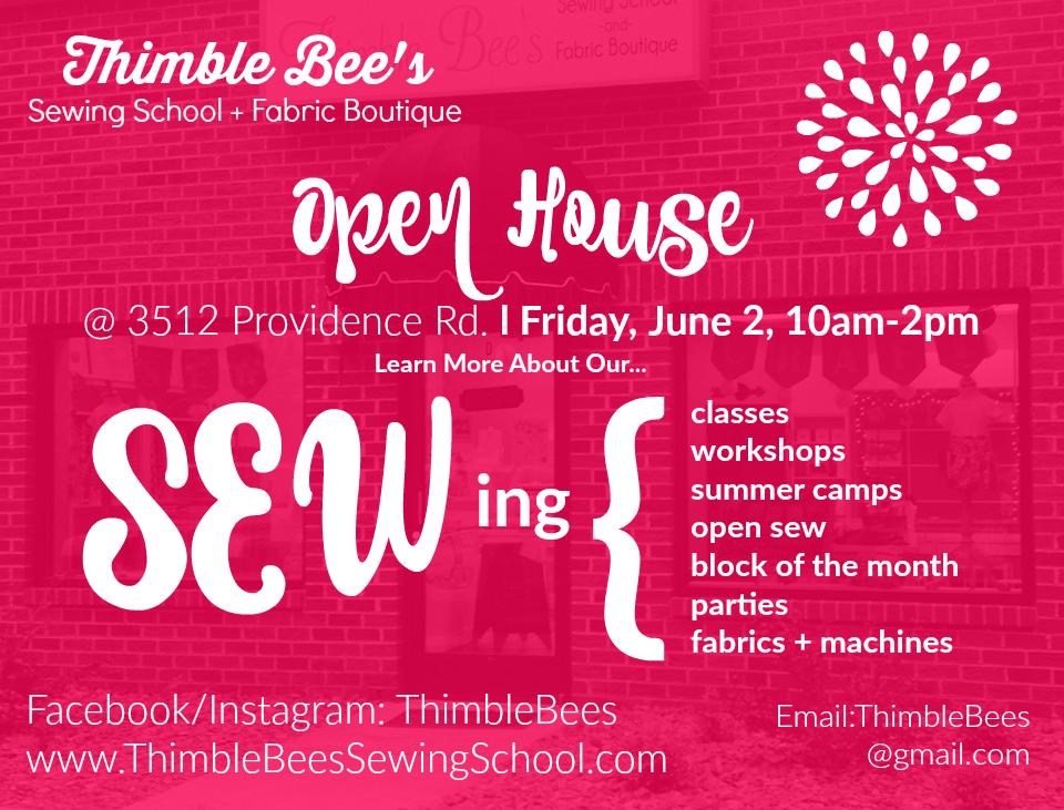ThimbleBees Open House June