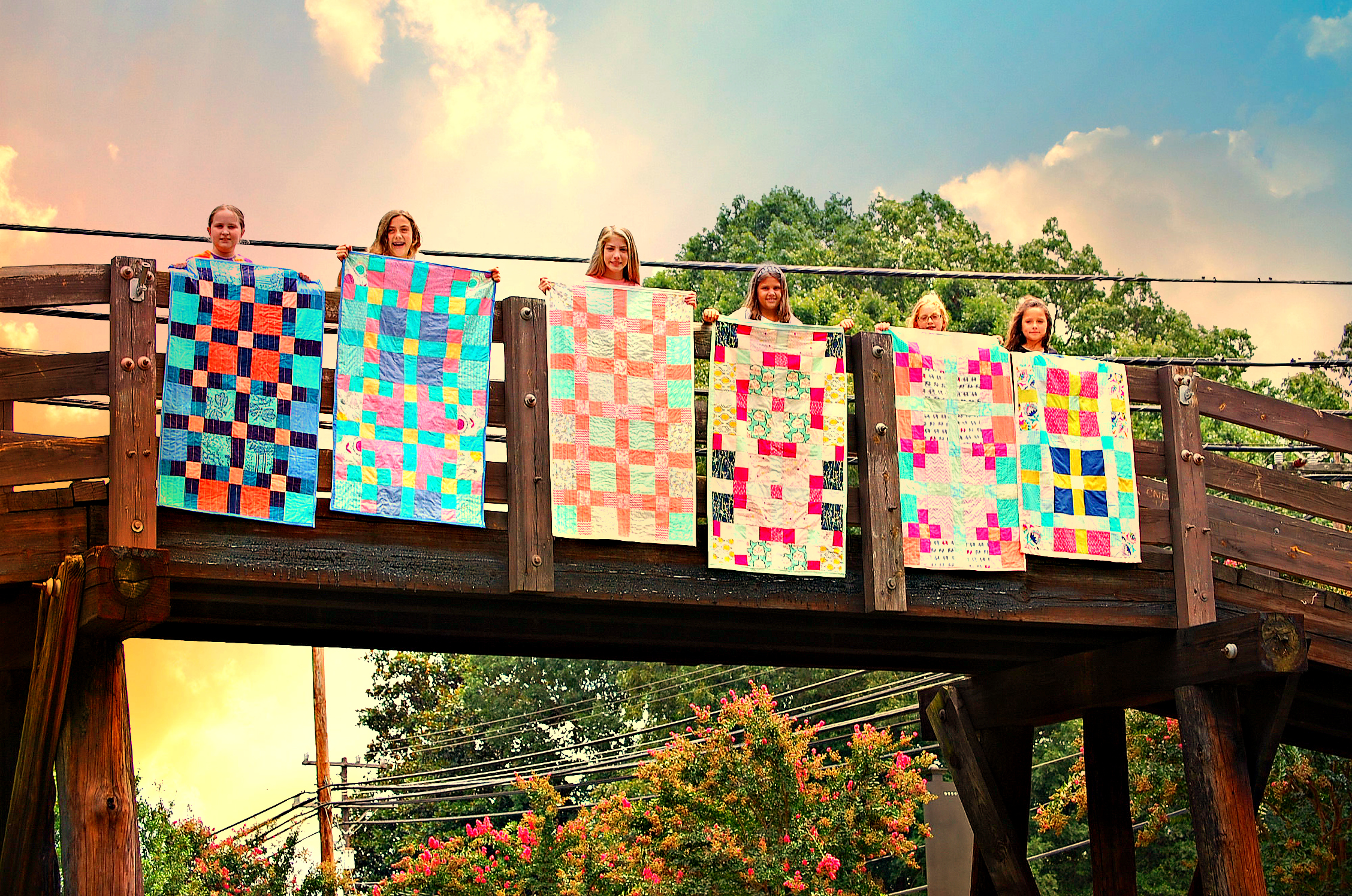 Quilt Camp Waxhaw Bridge