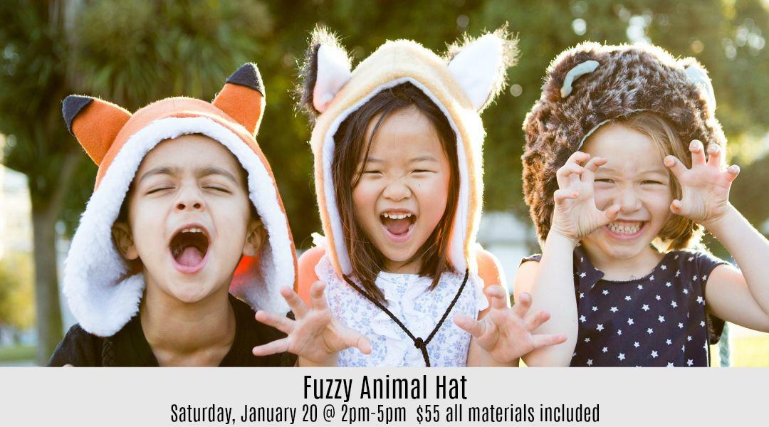 Fuzzy Animal Hat